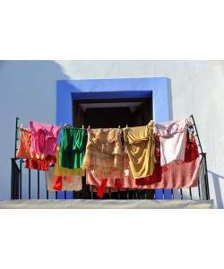 Hady Khandani, WASHING DAY IN IBIZA OLD CITY - SPAIN