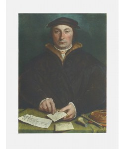Hans Holbein, Bildnis des Dirck Tybis