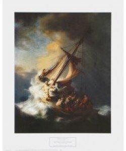 Harmensz. van Rijn Rembrandt, Der Sturm auf dem Galiläischen Meer, 1633