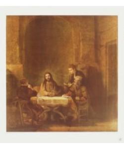 Harmensz. van Rijn Rembrandt, Die Jünger von Emmaus