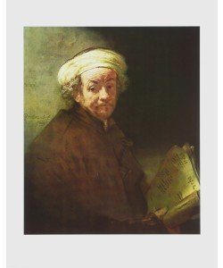 Harmensz. van Rijn Rembrandt, Selbstportrait als Apostel Paulus
