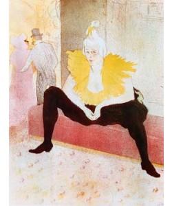 Henri de Toulouse-Lautrec, La Clownesse