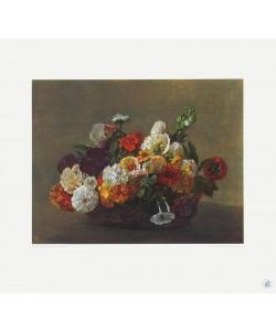 Henri Fantin-Latour, Blumenstück (Kupfertiefdruck)