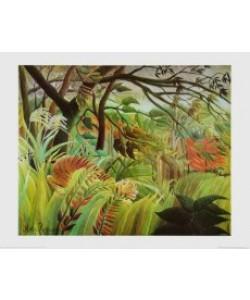 Henri Rousseau, Überrascht ! Sturm im Wald