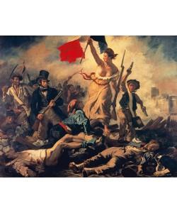 Henry-Eugne Delacroix, Die Freiheit fhrt das Volk