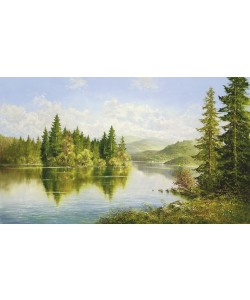 Helmut Glassl, SIBERIAN LAKE