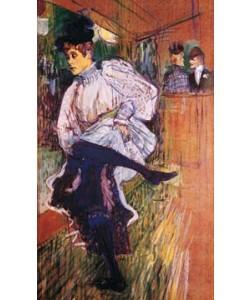 Henri de Toulouse-Lautrec, Jane Avril tanzend