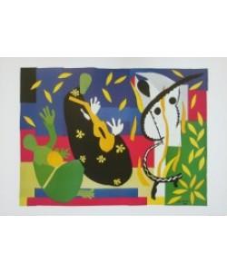 Henri Matisse, Die Traurigkeit des Koenigs, 1952