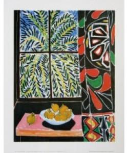 Henri Matisse, Innenansicht mit Ägyptischem Vorhang