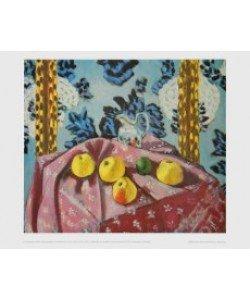 Henri Matisse, Stilleben mit Äpfeln auf einem rosa Tischtuch