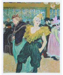 Henri de Toulouse-Lautrec, Clownesse Cha-U-Kao - 1895