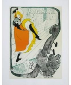Henri de Toulouse-Lautrec, Jane Avril - 1893