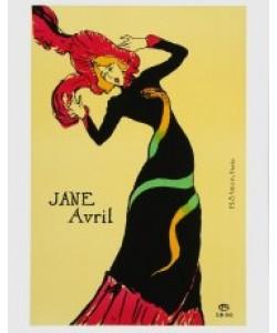 Henri de Toulouse-Lautrec, Jane Avril - 1899