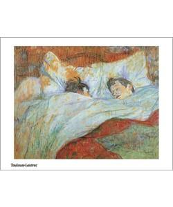 Henri TOULOUSE LAUTREC, Le lit