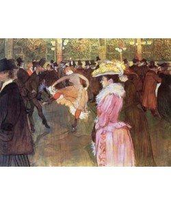 Henri de Toulouse-Lautrec, Ball im Moulin Rouge