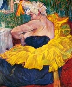 Henri de Toulouse-Lautrec, La clownesse Cha-U-Kao
