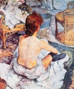 Henri de Toulouse-Lautrec, La Toilette