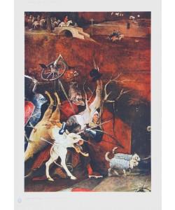 Hieronymus Bosch, Chor der Rachegeister