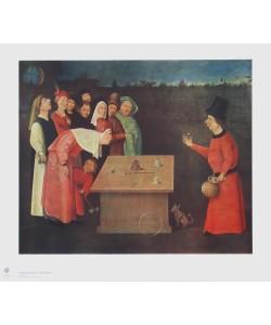 Hieronymus Bosch, Der Gaukler (auch: Der Zauberkünstler)