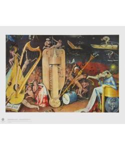 Hieronymus Bosch, Die Musikantenhölle