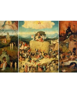 Hieronymus Bosch, Triptychon der Heuwagen
