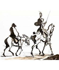 Honoré Daumier, Don Quixote