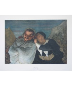 Honoré Daumier, Crispin und Scapin