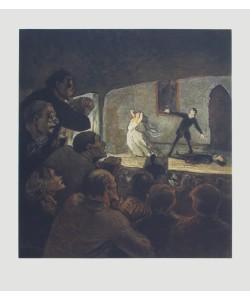 Honoré Daumier, Das Drama