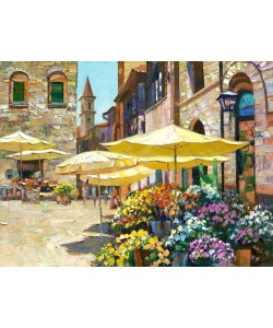 Howard Behrens, Sienna Flower Market