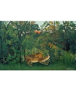 Henri Rousseau, Der hungrige Löwe