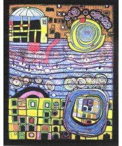 Friedensreich Hundertwasser, Die vier Einsamkeiten