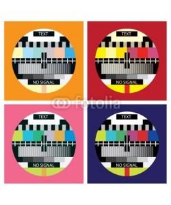 i3alda, tv color test in pop art style - illustration