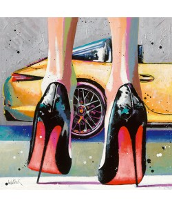Patrick Cornée, My high Heels, my pretty Car and Me