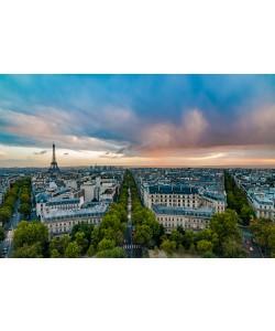 Arnaud Bertrande, Vue sur Paris depuis l´Arc de Triomphe