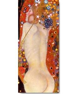 Gustav Klimt, Wasserschlangen II