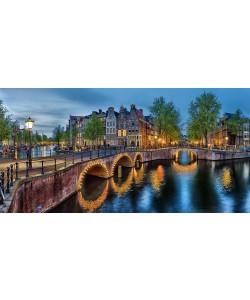 Rolf Fischer, Amsterdam - Grachten