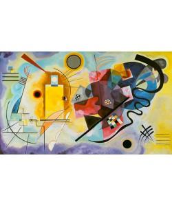 Wassily Kandinsky, Gelb, Rot und Blau