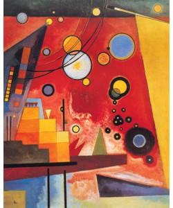 Wassily Kandinsky, Schweres Rot