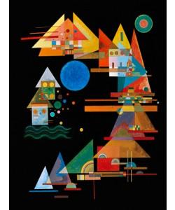 Wassily Kandinsky, Spitzen im Bogen