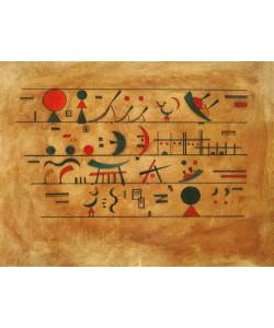 Wassily Kandinsky, Righe di segni