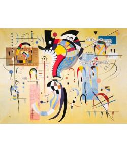Wassily Kandinsky, Milieu accompagne, 1937