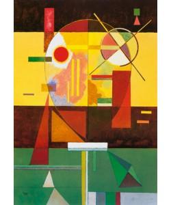 Wassily Kandinsky, Zersetzte Spannung, 1930