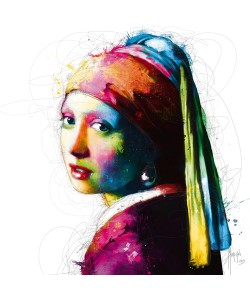 Direktdruck auf Alu-Dibond Patrice Murciano, Vermeer Pop