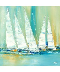 Olivier Messas, Voiliers en mer