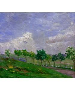 August Macke, Landschaft bei Kandern, 1907