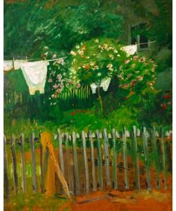 August Macke, Wäsche im Garten in Kandern