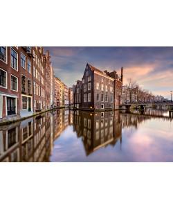 Arnaud Bertrande, Coucher de soleil sur Amsterdam