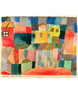 Paul Klee, Häuser am Meer