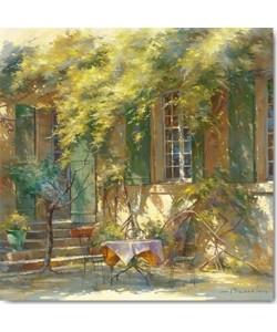 Johan Messely, La terrasse du château
