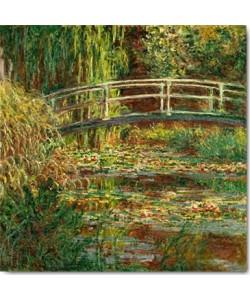 Claude Monet, Seerosenteich, Harmonie in Rosa